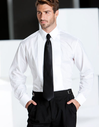 Regular-fit-white-pleated-laydown-with-long-tie